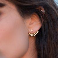 Dessous d'oreilles Esmeralda