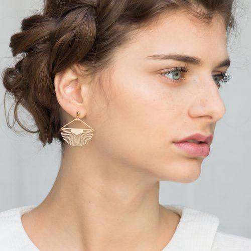 Boucles d'oreilles Trâ