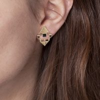 Boucles d'oreilles Momo